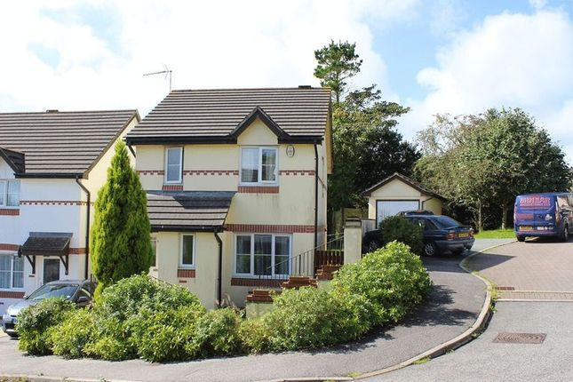 Thumbnail Detached house for sale in Century Close, St. Austell
