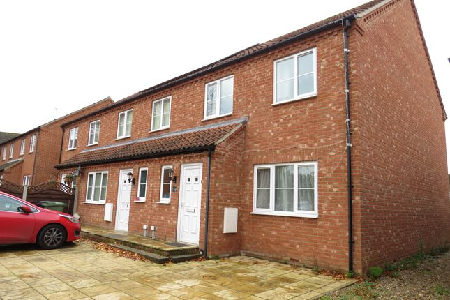 Thumbnail End terrace house for sale in Steeple View, Swaffham