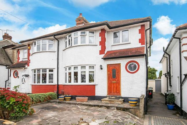 Thumbnail Semi-detached house for sale in Stonards Hill, Loughton
