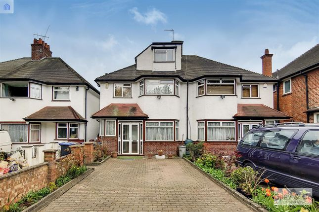 Thumbnail Semi-detached house for sale in Vivian Gardens, Wembley