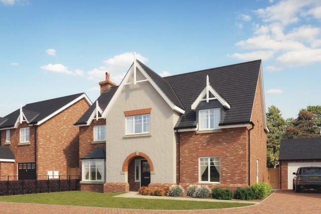 Thumbnail Detached house for sale in Church View. Station Road, Hadnall, Shrewsbury