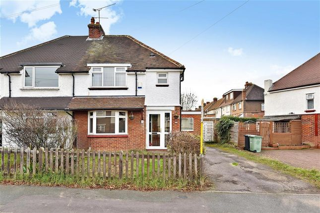 Thumbnail Semi-detached house for sale in South Park Road, Maidstone, Kent