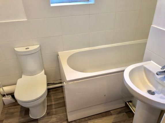 Bathroom of Rutland Street, Leicester, Leicestershire, England LE1