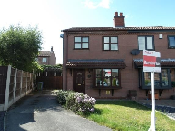 Thumbnail 2 bed semi-detached house for sale in Fair View, Mansfield Woodhouse, Mansfield, Nottinghamshire