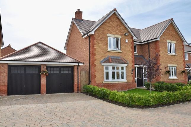 Thumbnail Detached house for sale in Grange Farm Drive, Honeybourne, Evesham