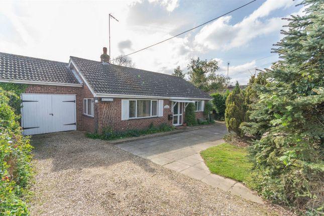 Thumbnail Detached bungalow for sale in Fakenham Road, East Bilney, Dereham