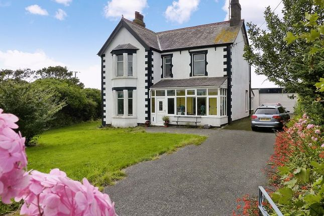 4 bed detached house for sale in Rhosybol, Amlwch, Isle Of Anglesey.