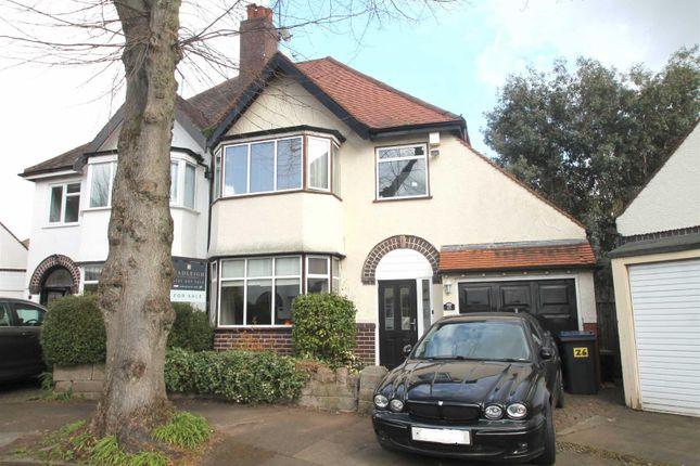 Thumbnail Semi-detached house for sale in Oaklands Avenue, Harborne, Birmingham