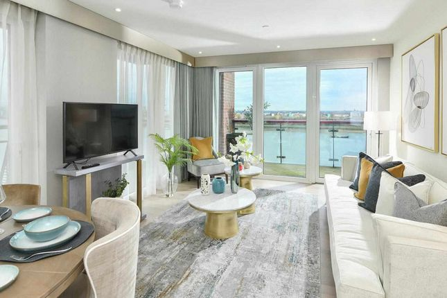 Thumbnail Flat for sale in Navigator Wharf, Royal Arsenal Riverside