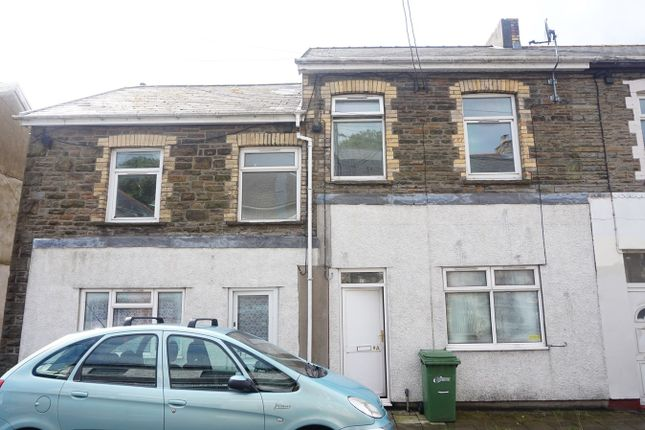Thumbnail End terrace house for sale in School Street, Elliots Town, New Tredegar