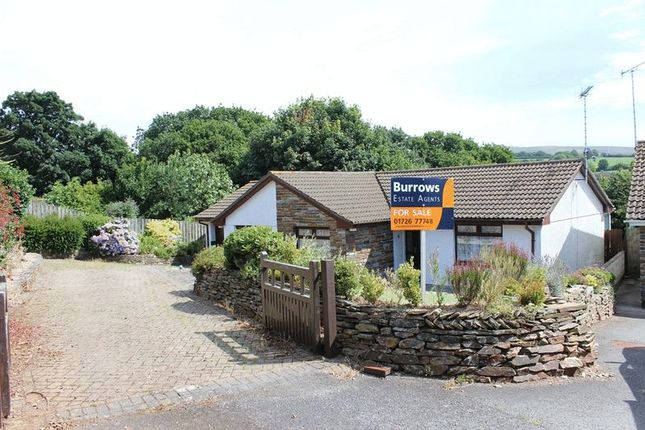 Thumbnail Bungalow for sale in Churchtown Meadows, St. Stephen, St. Austell