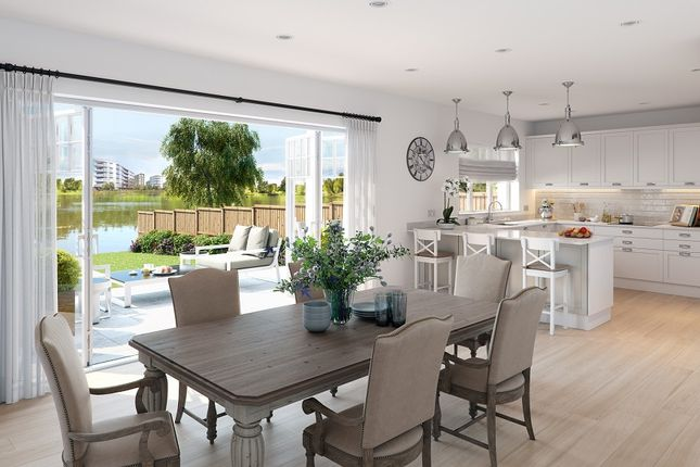 Thumbnail Detached house for sale in Longwater Avenue, Green Park, Reading
