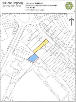 Thumbnail Detached bungalow for sale in Ashcroft Road, Luton