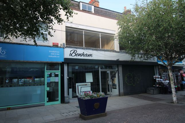 Thumbnail Commercial property for sale in Guildhall Street, Folkestone