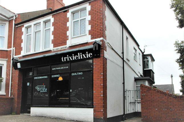 Thumbnail Retail premises to let in Gelligaer Gardens, Cathays, Cardiff