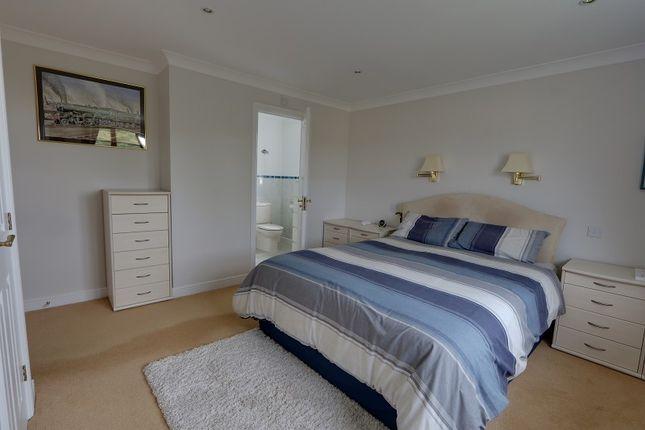 Master Bedroom of Oldcroft, Lydney, Gloucestershire. GL15
