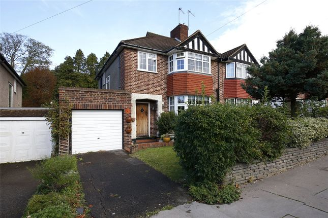 Thumbnail Semi-detached house for sale in Waddington Way, Crystal Palace, London