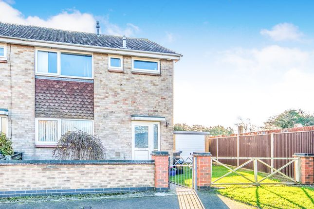 Thumbnail End terrace house for sale in Louis Dahl Road, Burgh Castle, Great Yarmouth