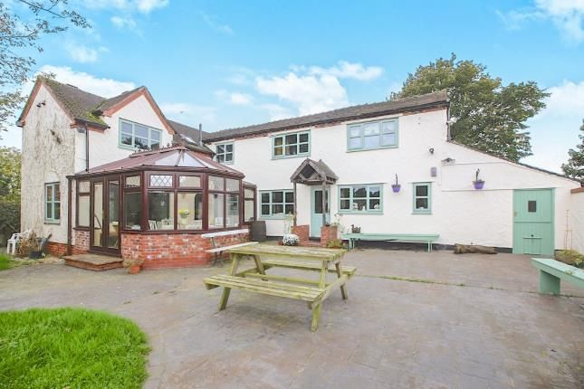 Thumbnail Detached house for sale in Sandbach Road, Wall Hill, Congleton, Cheshire