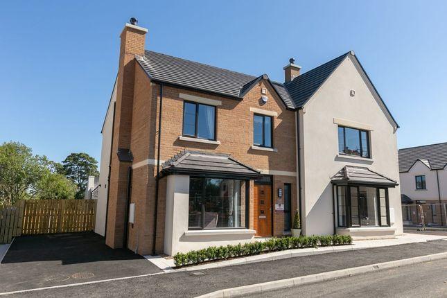Thumbnail Semi-detached house for sale in Chantry Gardens, Station Road, Greenisland, Carrickfergus