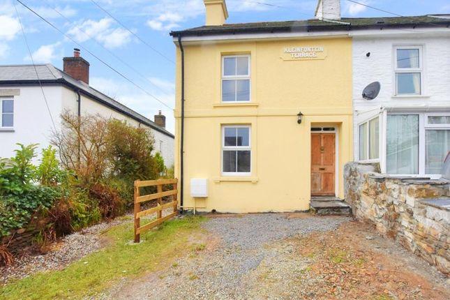 Thumbnail End terrace house to rent in Kleinfontein Terrace, Pensilva, Liskeard, Cornwall