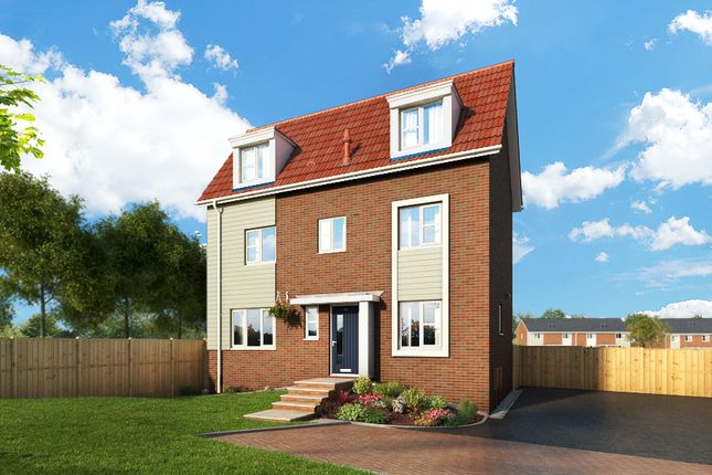 """Thumbnail Property for sale in """"The Honeysuckle At Meadow View, Shirebrook"""" at Brook Park East Road, Shirebrook, Mansfield"""