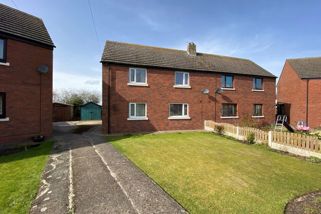 3 bed semi-detached house for sale in The Oval, Cummersdale, Carlisle CA2