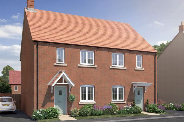 "Thumbnail Semi-detached house for sale in ""The Sycamore"" at Perth Road, Bicester"