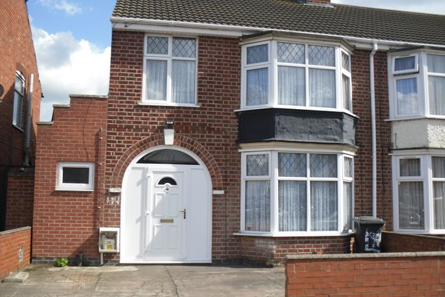 Thumbnail Semi-detached house for sale in Kitchener Road, North Evington, Leicester