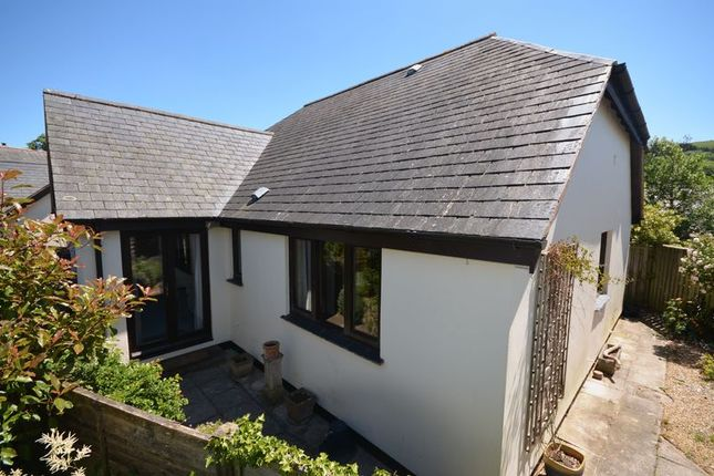 Thumbnail Detached bungalow for sale in Stannary Place, Chagford, Newton Abbot