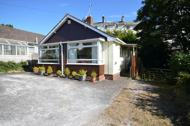 Thumbnail Detached bungalow for sale in Woodway Drive, Teignmouth, Devon