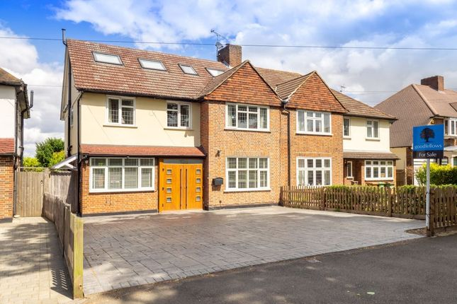 Thumbnail Semi-detached house for sale in Cheam Road, Cheam, Sutton