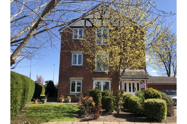 2 bed flat for sale in Springfield Drive, Wistaston CW2