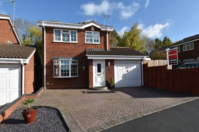 Thumbnail Detached house for sale in Snowshill Close, Church Hill North, Redditch