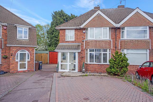 Thumbnail Semi-detached house for sale in Balmoral Road, Castle Bromwich, Birmingham