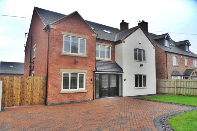 Thumbnail Detached house to rent in Rykneld Road, Littleover, Derby