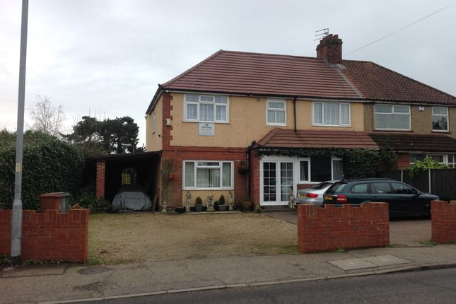 Thumbnail Semi-detached house for sale in Reepham Road, Hellesdon, Norwich