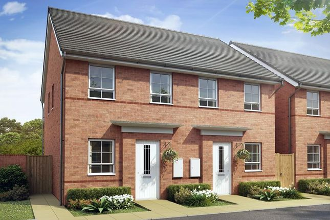 Semi-detached house for sale in The Richmond, Alexander Gate, Off Waterloo Road, Hanley, Stoke-On-Trent