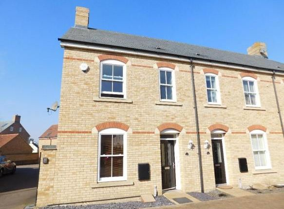 Thumbnail End terrace house to rent in Charlotte Avenue, Fairfield, Hitchin