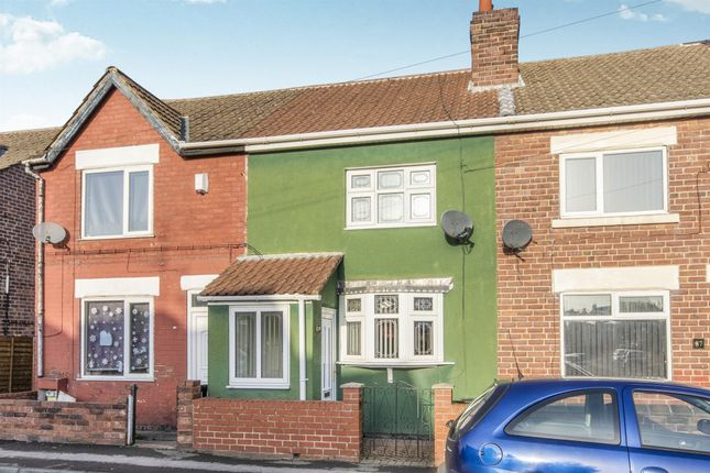 3 bed terraced house for sale in Victoria Road, Edlington, Doncaster DN12