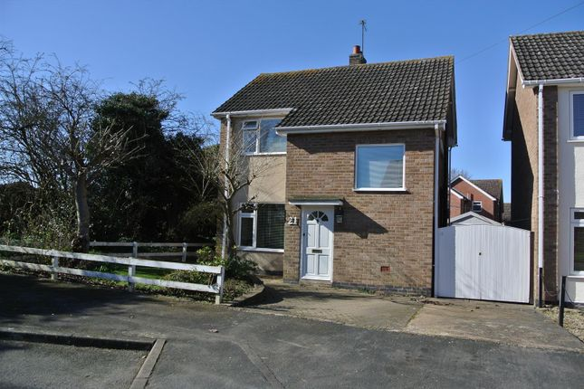 Thumbnail Detached house for sale in Leamington Drive, Blaby, Leicester