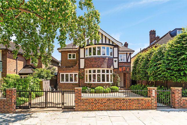 Thumbnail Detached house for sale in Denbigh Gardens, Richmond, Surrey