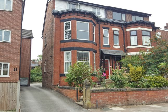 Thumbnail Flat to rent in Victoria Crescent, Monton