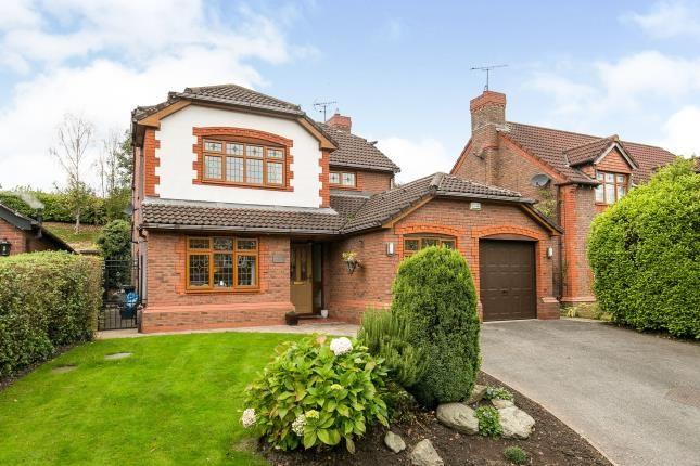 Thumbnail Detached house for sale in Thomas Avenue, Ewloe, Deeside, Flintshire