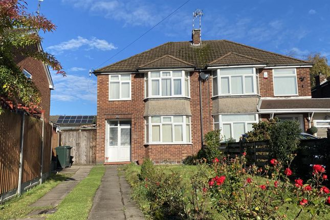 Thumbnail 3 bed semi-detached house to rent in High Street, Keresley, Coventry