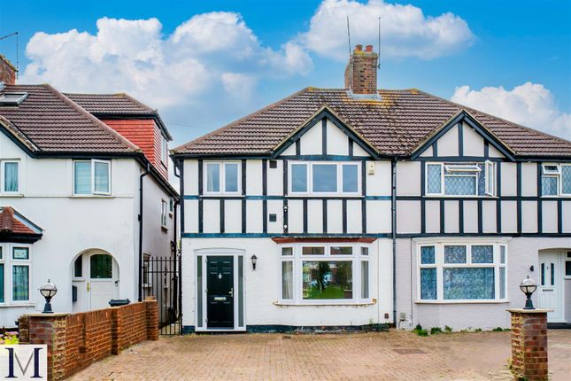 Thumbnail Semi-detached house to rent in Sutton Square, Heston, Middlesex