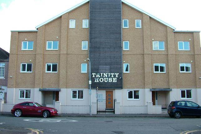 Thumbnail Flat to rent in Trinity House, Tydraw Street, Port Talbot