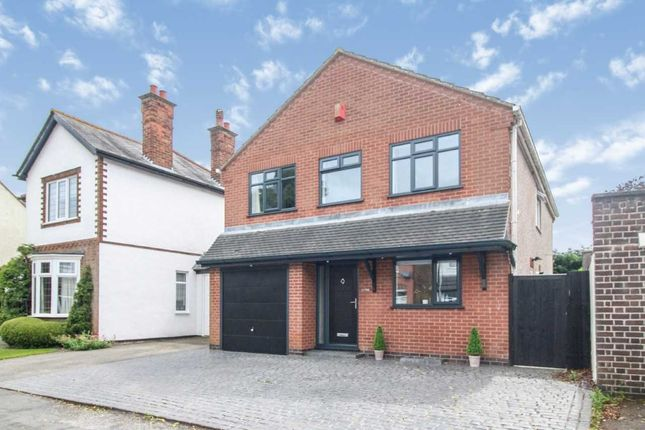 Thumbnail Detached house for sale in Victoria Road, Burbage, Hinckley, Leicestershire