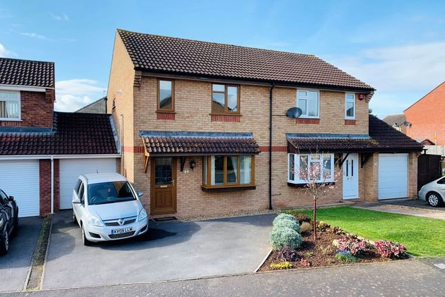 Thumbnail Semi-detached house for sale in Medway Close, Taunton