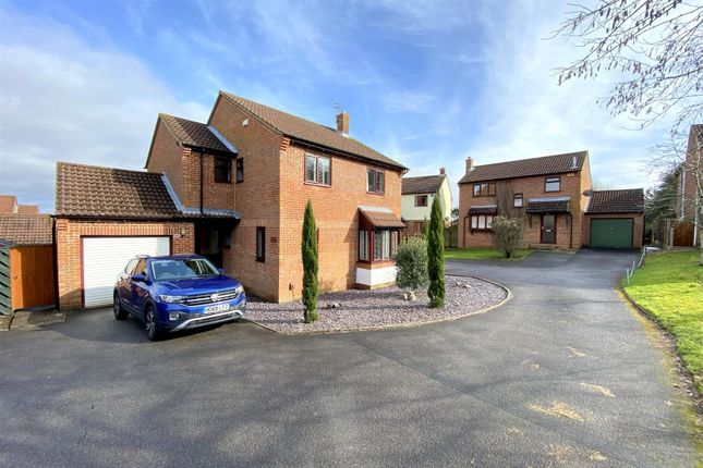 4 bed detached house for sale in King Richard Drive, Bearwood, Bournemouth BH11